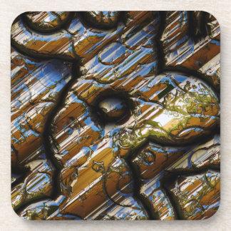 Sci-Fi Metal Art 2-9 Cork Coaster