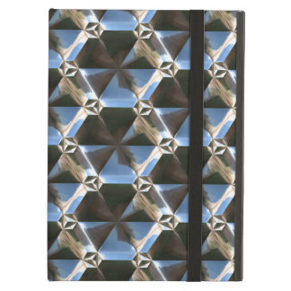 Sci-Fi Metal Pattern 7 Powiscase Options Cover For iPad Air