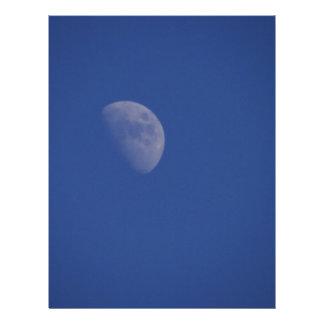 Sci Fi Moon Letterhead