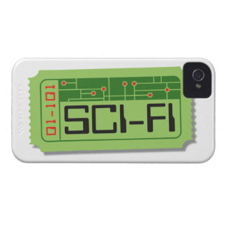 Sci-Fi Movie Ticket Blackberry Case