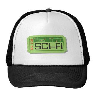 Sci-Fi Movie Ticket Hat