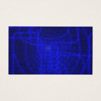 Sci-Fi Neon Circuits Business Card