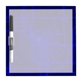 Sci-Fi Neon Circuits Dry-Erase Board