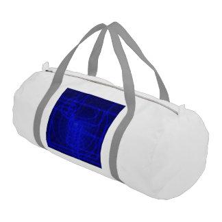 Sci-Fi Neon Circuits Duffle Bag