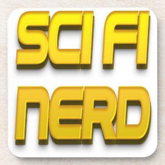 Sci-Fi Nerd Gold Coasters