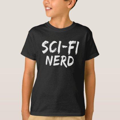Sci Fi Nerd Print T-Shirt