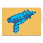 Sci-Fi Ray Gun Laser Pistol Greeting Card