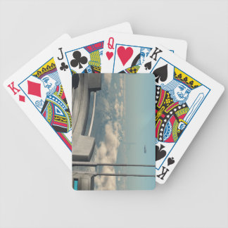 Sci-fi scene - Station 45 Bicycle Playing Cards