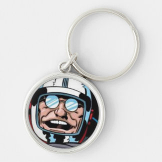 Sci Fi science fiction keyring Keychain