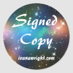Sci Fi Signed Copy with URL Stickers
