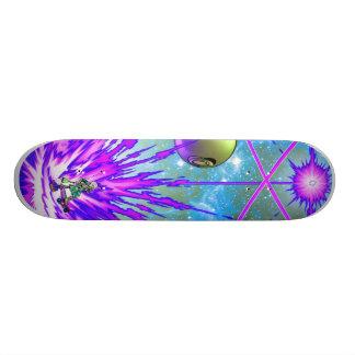 sci-fi skateboard deck