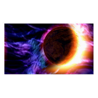 Sci-Fi Space Scene Double-Sided Standard Business Cards (Pack Of 100)