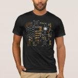 Sci-Fi Streetwear Human-Computer Interface T-Shirt