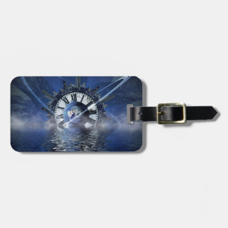 Sci-Fi Time Splash Luggage Tag