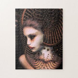 Sci-Fi Woman in Futuristic Headdress Puzzle