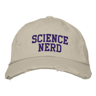 SCI-NER-WF EMBROIDERED BASEBALL CAP