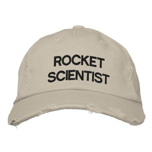 SCI-ROCK-WF EMBROIDERED BASEBALL CAP