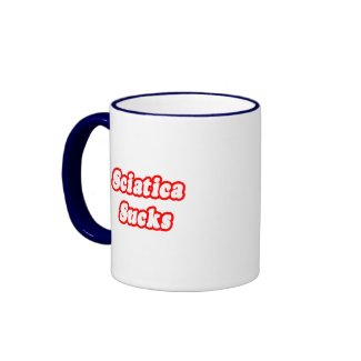 Sciatica Sucks Mugs