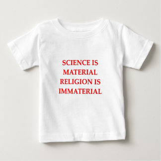 sciemce y religión camisetas