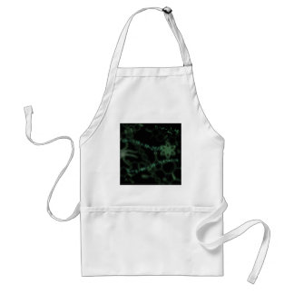 Science 101 green adult apron