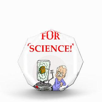science acrylic award