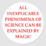 SCIENCE and magic Stickers