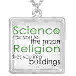 Science and Religion Custom Necklace