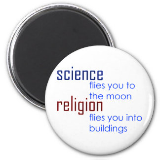 science and religion fridge magnets