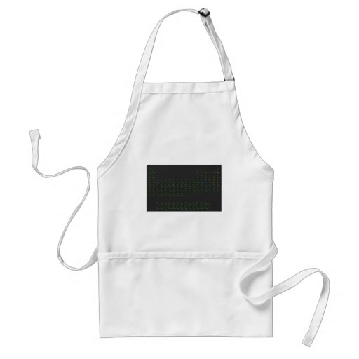 Science and Tech periodical table 1 Apron