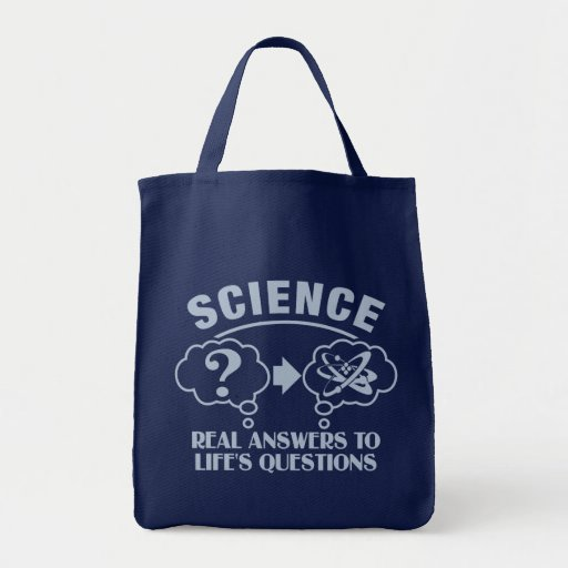 Science Answers bag - choose style & color