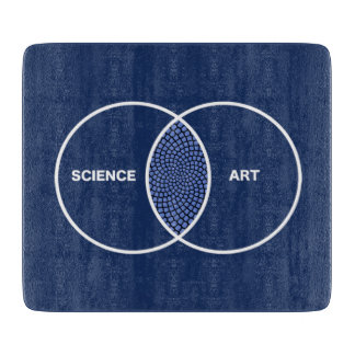 Science / Art Venn Diagram Cutting Board