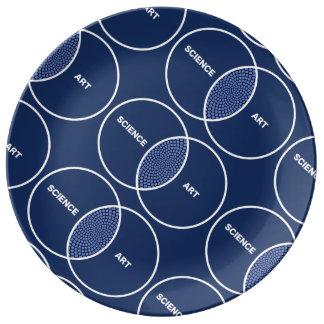 Science / Art Venn Diagram Plate