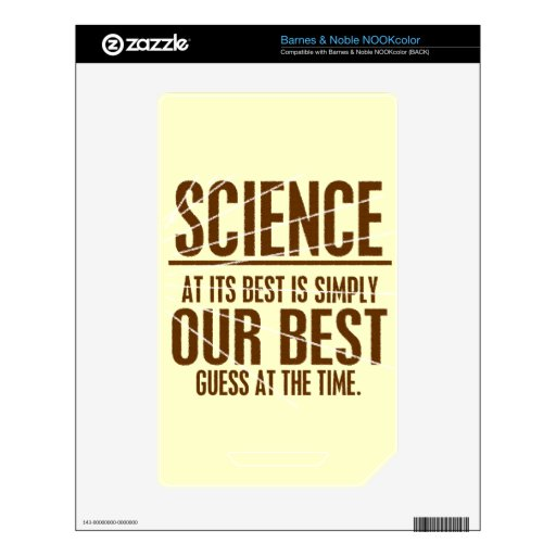 Science at Its Best Decal For NOOK Color