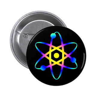 science atom button