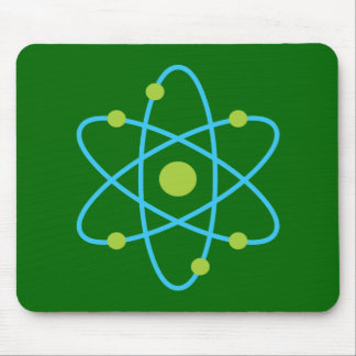 Science Atom Mouse Pad