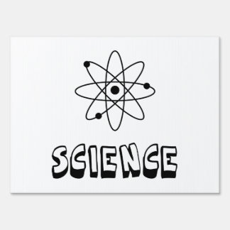 Science Atom Signs