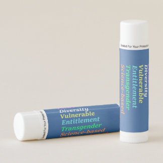 Science based and other banned words lip balm