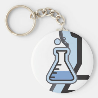Science Beaker Keychain