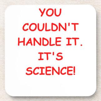 SCIENCE BEVERAGE COASTER