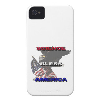 Science Bless America American Flag And Bald Eagle iPhone 4 Cover