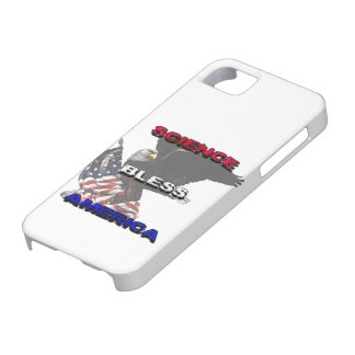 Science Bless America American Flag And Bald Eagle iPhone 5 Case