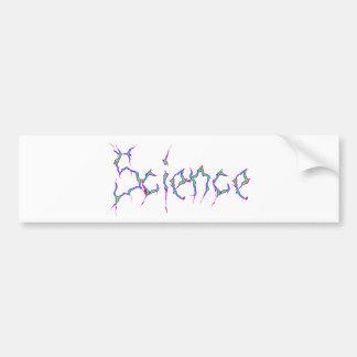 Science Car Bumper Sticker