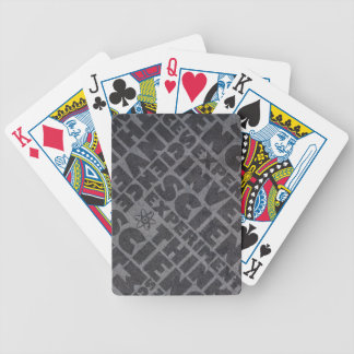 Science cards bicycle playing cards