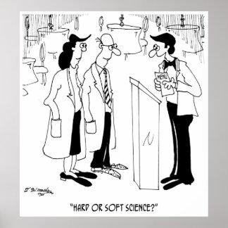 Science Cartoon 6908 Poster