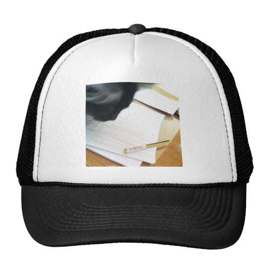 Science Cat Trucker Hat
