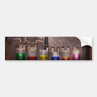 Science - Chemist - Glassware for couples Car Bumper Sticker