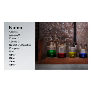 Science - Chemist - Glassware for couples Business Card