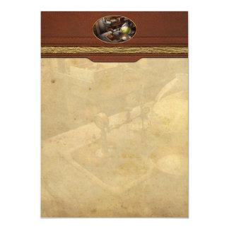 Science - Chemist - Scientific Discoveries 5x7 Paper Invitation Card