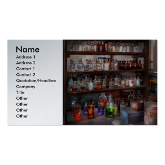 Science - Chemist - The secret of life Business Card