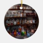 Science - Chemist - The secret of life Christmas Tree Ornaments